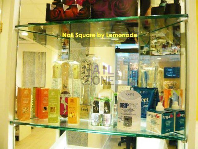 Nail Square by Lemonade - 不同品牌的美甲產品